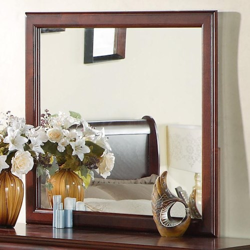 Standard Furniture Lewiston Dresser Mirror