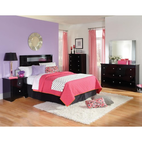 Standard Furniture Marilyn Youth Twin Bedroom Group