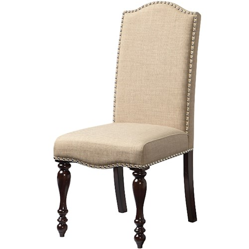 Standard Furniture McGregor Side Chair with Turned Legs