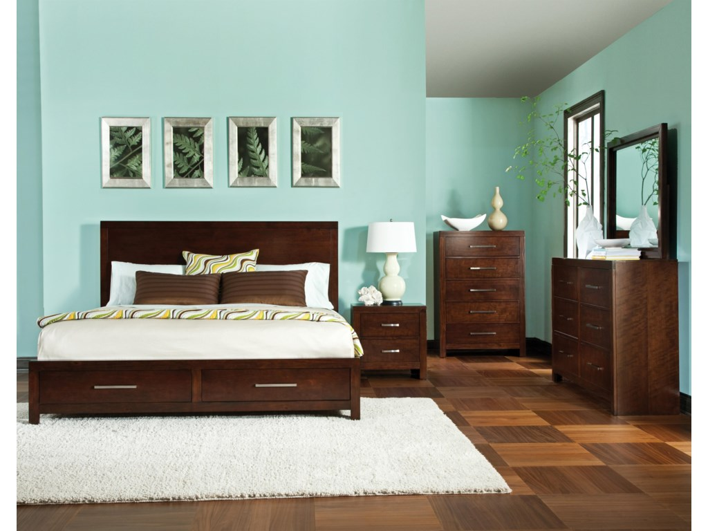 Shown with Storage Bed, Nightstand & Chest