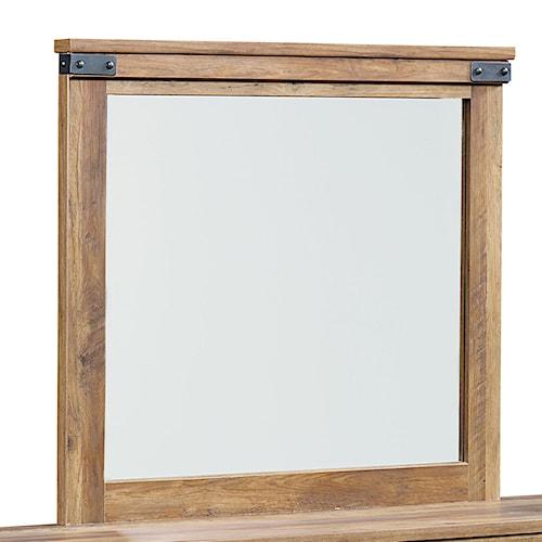 Standard Furniture Montana Wood-Framed Mirror