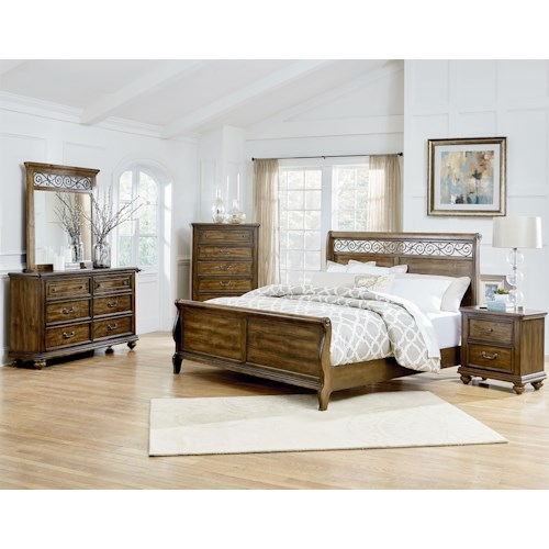 Standard Furniture Monterey King Bedroom Group
