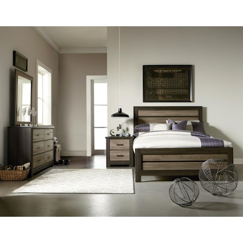 Standard Furniture Oakland Full Bedroom Group