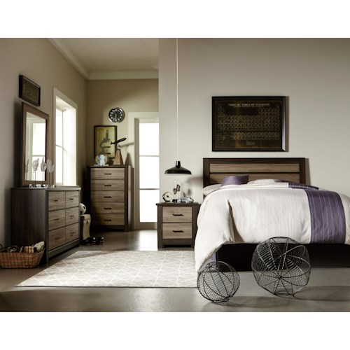 Standard Furniture Oakland Twin Bedroom Group