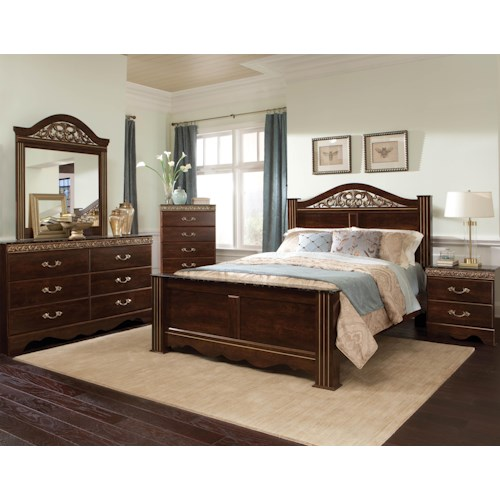 Standard Furniture Odessa King Bedroom Group
