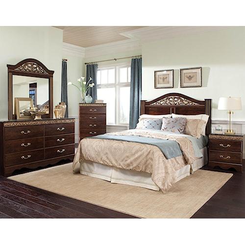 Standard Furniture Odessa King Bedroom Group