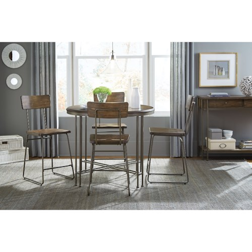 Standard Furniture Oslo Industrial Casual Dining Room Group