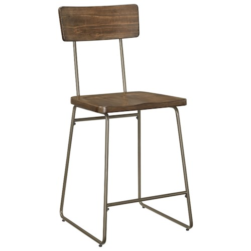 Standard Furniture Olso Industrial Counter Height Stool