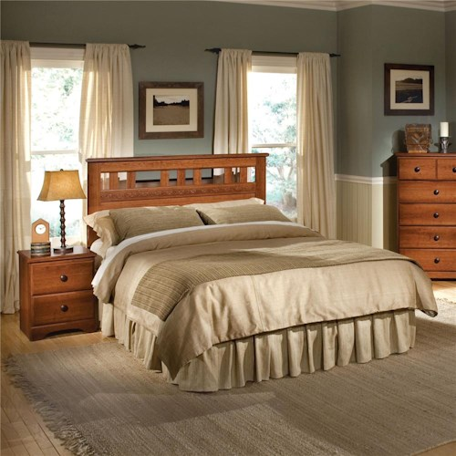 Standard Furniture Orchard Park Full/Queen Panel Headboard