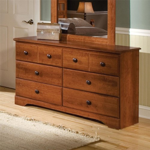 Standard Furniture Orchard Park 6-Drawer Dresser