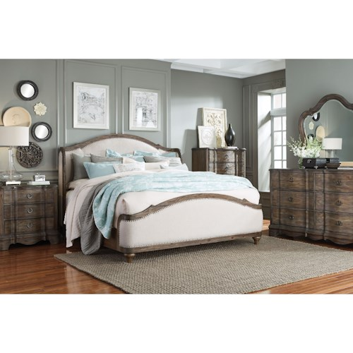 Standard Furniture Parliament King Bedroom Group