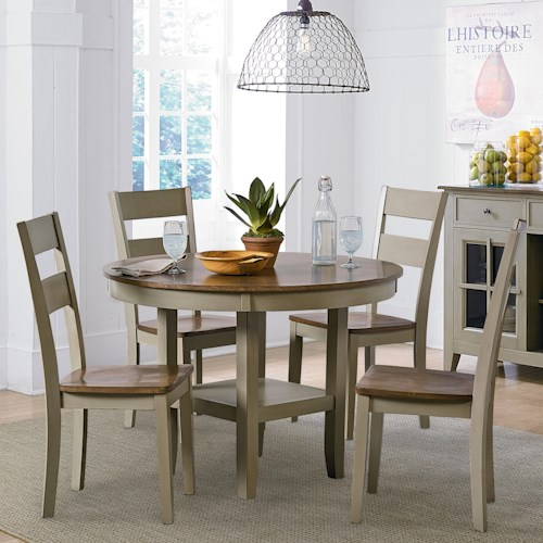 Standard Furniture Pendwood Sage Casual Kitchen Table and Chair Set
