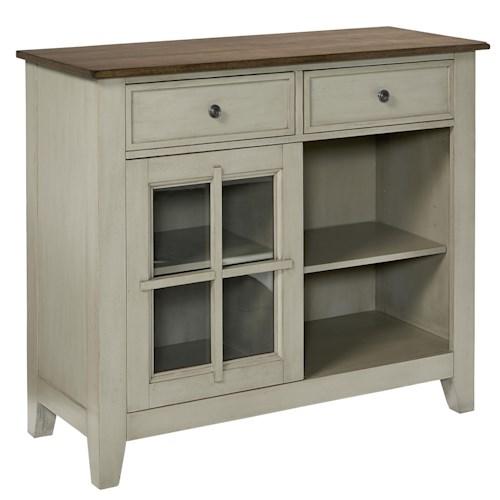 Standard Furniture Pendwood Sage Two-Toned Casual Sideboard
