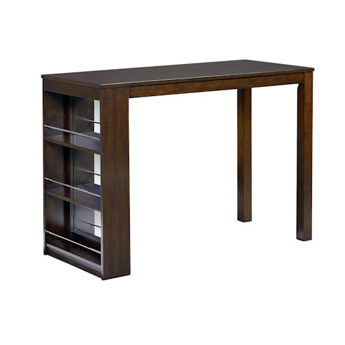 Standard Furniture PORTER Modern Counter-Height Table with Storage