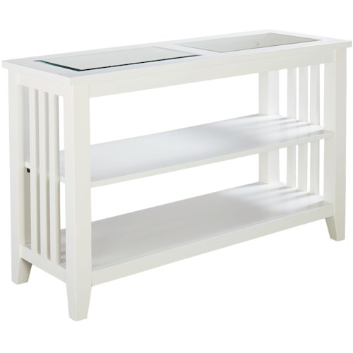 Standard Furniture Rio Lite Console Table with 2 Shelves