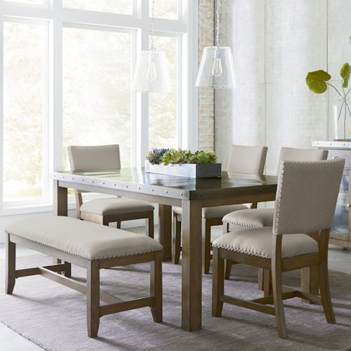 Metal Top Dining Room Table Metal Dining Room Table Stainless