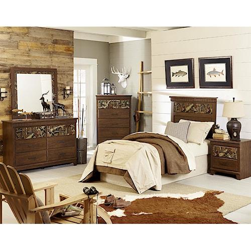 Standard Furniture Solitude Twin Bedroom Group