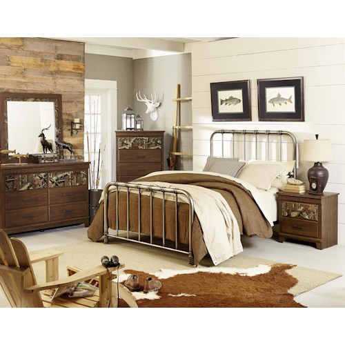 Standard Furniture Solitude Queen Bedroom Group