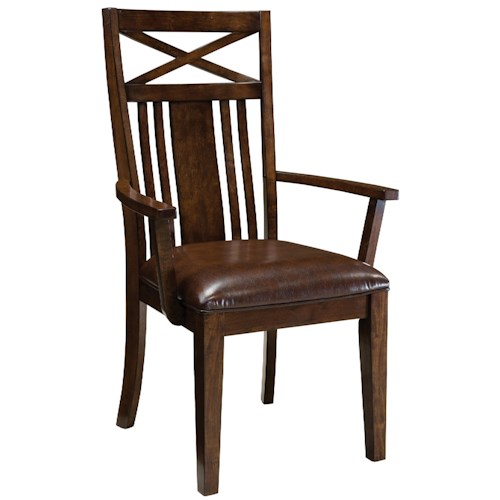 Standard Furniture Sonoma Dining Arm Chair