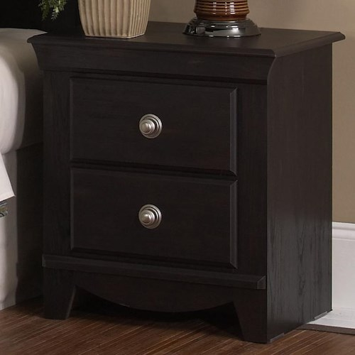 Standard Furniture Carlsbad 2 Drawer Nightstand