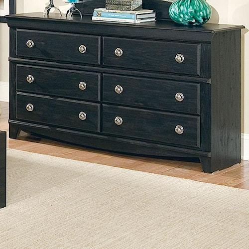Standard Furniture Carlsbad 6 Drawer Dresser