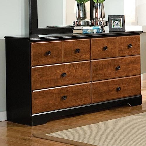 Standard Furniture Steelwood 6 Drawer Dresser