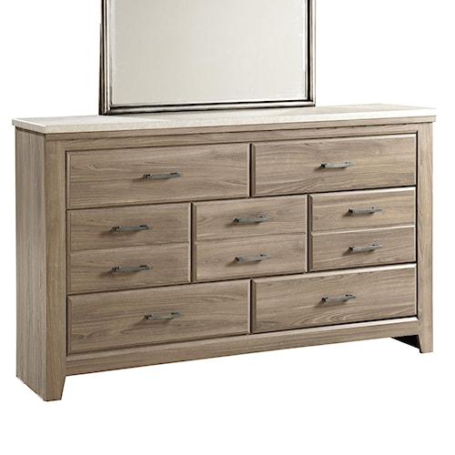 Standard Furniture Stonehill Casual 7 Drawer Dresser