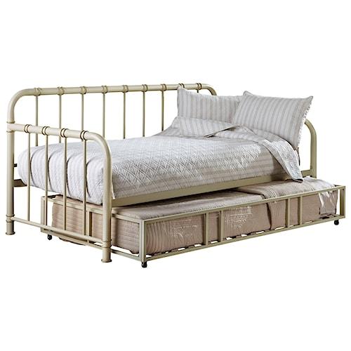 Standard Furniture Tristen Metal Daybed w/ Trundle
