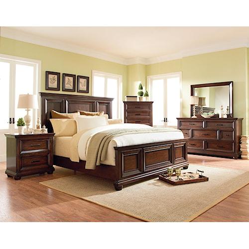 Standard Furniture Vineyard King Bedroom Group
