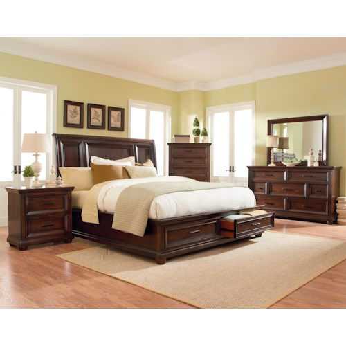 Standard Furniture Vineyard King Bedroom Group