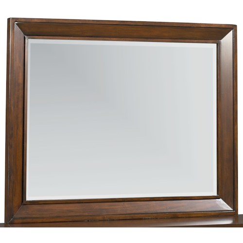 Vendor 855 Vineyard Landscape Mirror with Deep Picture Frame Molding