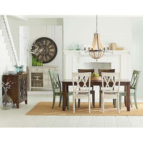Standard Furniture Vintage Dining Room Group