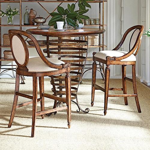 Stanley Furniture Arrondissement 3-Piece Brasserie Pub Table Set