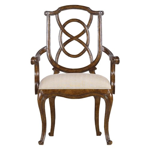 Stanley Furniture Arrondissement Tuileries Arm Chair