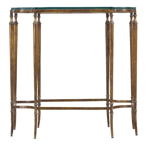 Stanley Furniture Arrondissement Solid Brass Soirée Side Table