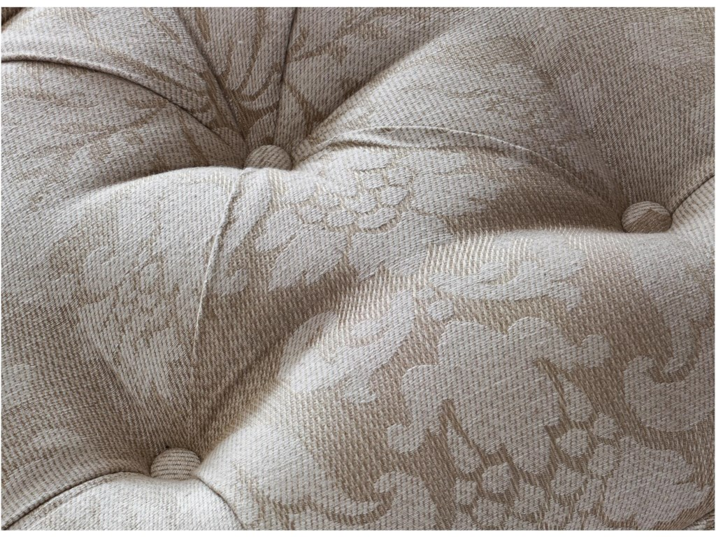 The tufting makes an elegant and sumptuous statement.