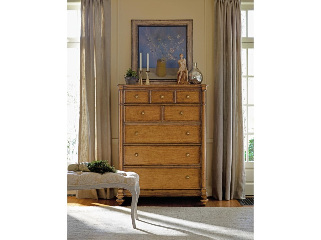 Shown with Belle Mode Drawer Chest