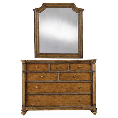 Stanley Furniture Arrondissement Belle Mode Dresser & Musée Mirror