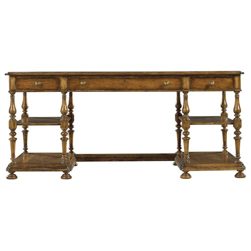 Stanley Furniture Arrondissement Esprit Writing Desk with Tooled Veneer Top