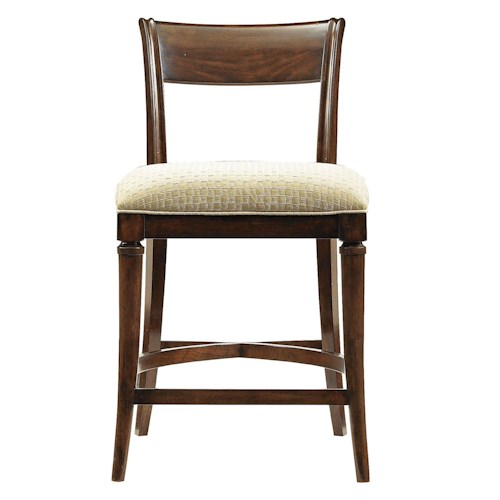 Stanley Furniture Avalon Heights Tempo Low Back Counter Stool