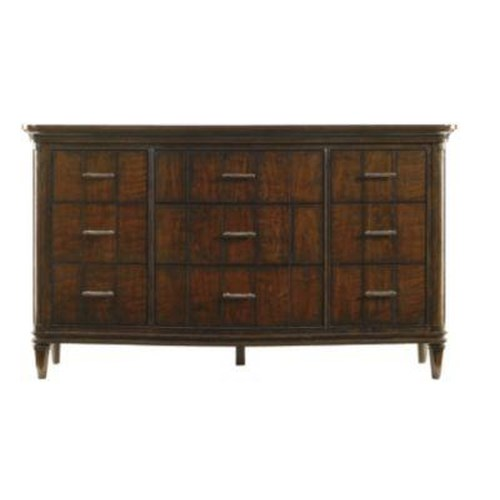 Stanley Furniture Avalon Heights 9 Drawer Swingtime Serpentine Dresser