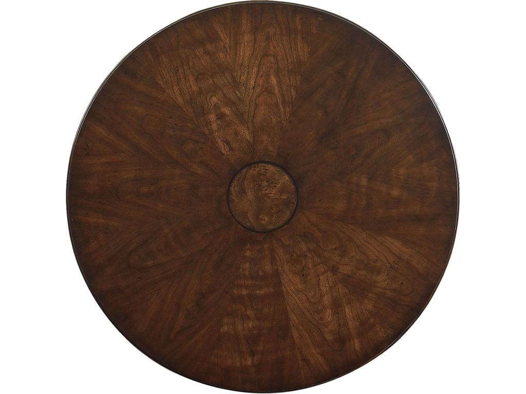 Mapa Burl in Center Medallion Table Top