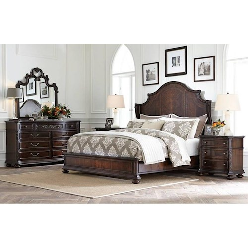 Stanley Furniture Casa D'Onore California King Bedroom Group