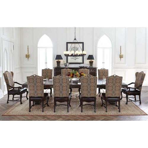 Stanley Furniture Casa D'Onore 11 Piece Formal Table & Chair Set