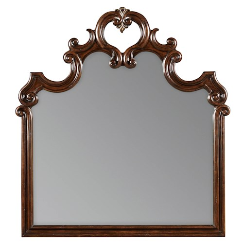 Stanley Furniture Casa D'Onore Mirror with Wood Frame