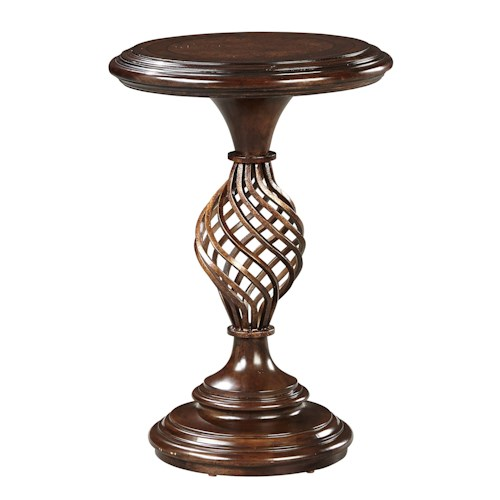 Stanley Furniture Casa D'Onore Martini Table with Pedestal