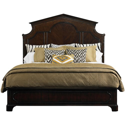 Stanley Furniture Charleston Regency Queen Cathedral Panel Bed