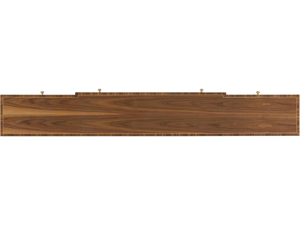 View of Clear Walnut Table Top