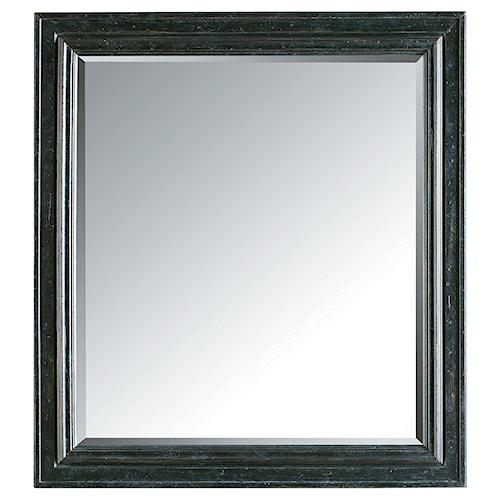 Stanley Furniture European Cottage Landscape Mirror for Dresser or Wall