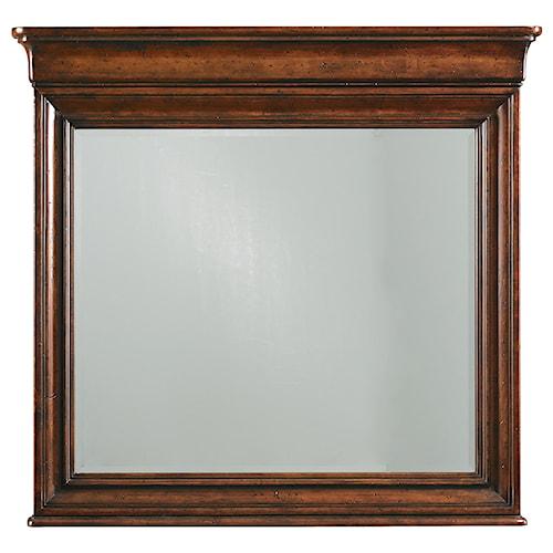 Stanley Furniture The Classic Portfolio - Louis Philippe Landscape Mirror